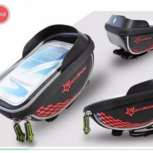 Fresh Deals Bike Accessory Red ROCKBROS Road Cycling Front Top Saddle Bag