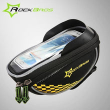 Fresh Deals Bike Accessory Yellow ROCKBROS Road Cycling Front Top Saddle Bag