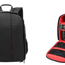 Fresh Deals Camera Accessory Red Digital DSLR Camera Backpack Colorful Waterproof Multi-functional