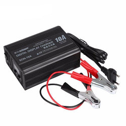 Fresh Deals Car Accessory 6V/12V 10A Smart Car Lead Acid Battery Charger