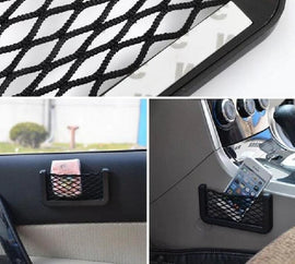 Fresh Deals Car Accessory Car Net Pockets Adhesive Visor Bag