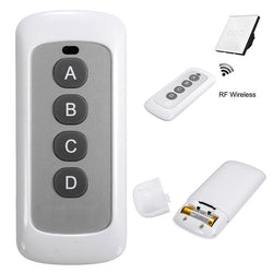 Fresh Deals Consumer Electronics 4 Buttons Wireless RF Smart Remote Control