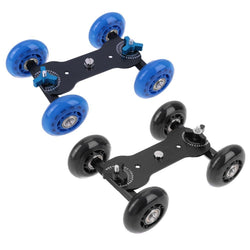 Fresh Deals Consumer Electronics 4 Wheels Video Camera Track Car Stabilizer