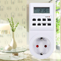 Fresh Deals Consumer Electronics Programmable Switch Socket Plug-in Timer Clock