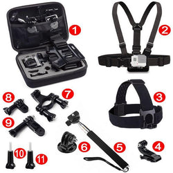 Fresh Deals Consumer Electronics Sports Camera Combination Pack Accessories Kit
