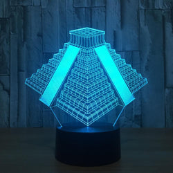 Fresh Deals Garden & Outdoor 3D LED Creative Colorful Light Table Lamp