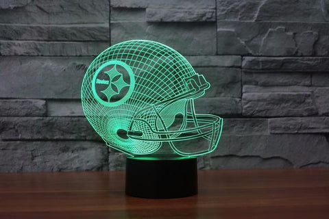 Fresh Deals Garden & Outdoor 3D LED Helmet Touch Night Light Changing Lamp