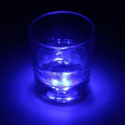 Fresh Deals Garden & Outdoor blue LED Coaster Flashing Light Bulb Bottle Cup Party At Home