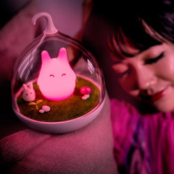 Fresh Deals Garden & Outdoor Children Bedside Totoro Cartoon Cute LED Lamp