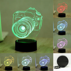 Fresh Deals Garden & Outdoor Color Visual USB Table LED Night Lights
