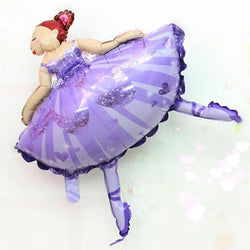 Fresh Deals Garden & Outdoor Default Title Ballerina Dancer Sparkles Ballet Foil Balloons