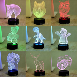 Fresh Deals Garden & Outdoor dolphin Color Visual USB Table LED Night Lights