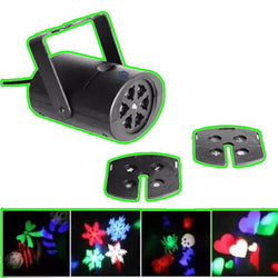 Fresh Deals Garden & Outdoor eight lens select Mini Projector LED Multi-color Club Lamp