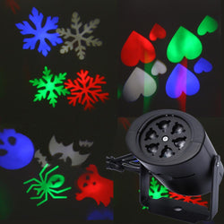 Fresh Deals Garden & Outdoor Heart Snow Spider Bat Laser Projector LED Lamps