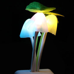 Fresh Deals Garden & Outdoor Mushroom Novelty Romantic Colorful 3LED Lamp
