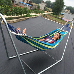 Fresh Deals Garden & Outdoor Rainbow Hammock Travel Outdoor Garden Hang Bed