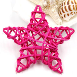 Fresh Deals Garden & Outdoor Rose Red Rattan Star Spake Rattan Ball Tarawa Birthday Decorations