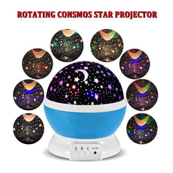 Fresh Deals Garden & Outdoor Spin Starry Sky Star Night Light Projector Lamp