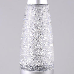 Fresh Deals Garden & Outdoor USB Glitter Rocket Night Light Lava Lamp