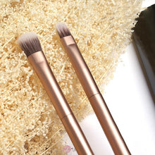 Fresh Deals Health & Beauty Double Head Soft Metal Highlight Brushes