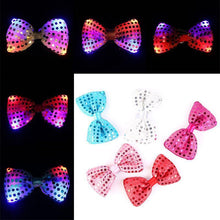 Fresh Deals Holiday Light LED Mix-color Neck Bow Ties