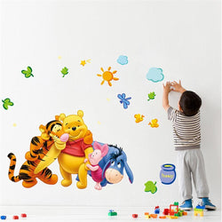Fresh Deals Home & Living 30x60cm Winnie The Pooh Animals Friends For Kids Room Wall