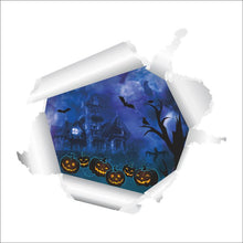 Fresh Deals Home & Living 3D Halloween Decoration Pumpkin Flying Bat Wall