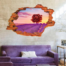 Fresh Deals Home & Living 3d Romantic Lavender Wall Sticker Bedroom
