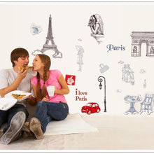 Fresh Deals Home & Living 3D Wall I Love Paris Quote Decor Living Room