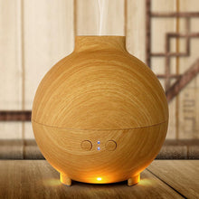 Fresh Deals Home & Living Aromatherapy Wood Grain Ultrasonic  Essential Oil Diffuser