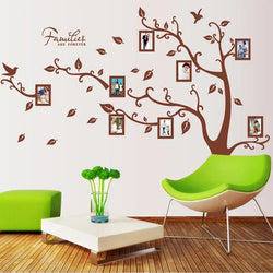 Fresh Deals Home & Living Big Family Tree Forever Photo Frame Wall Sticker
