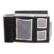 Fresh Deals Home & Living Black Multi Pockets Bedside Desk Hanging Storage Bag