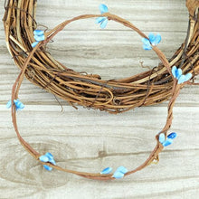 Fresh Deals Home & Living Blue Artificial Flower Wreath Branches Wedding Decoration