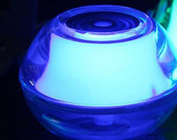 Fresh Deals Home & Living Blue Beauty Aroma Back light Crystal Fogger Air Humidifier Diffuser