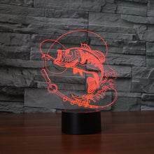 Fresh Deals Home & Living Bluetooth speakers Color Changing Fish LED USB Night Light Touch Button Desk Lamp