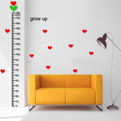 Fresh Deals Home & Living Cartoon Height Measure Wall Stickers Growth Chart
