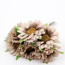Fresh Deals Home & Living coffee Artificial DIY Sunflower Bouquet Party Wedding Decoration