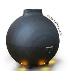 Fresh Deals Home & Living Dark wood grain / China / US Plug Aromatherapy Wood Grain Ultrasonic  Essential Oil Diffuser