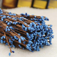 Fresh Deals Home & Living Deep Blue Artificial Beads Branches Home Decoration