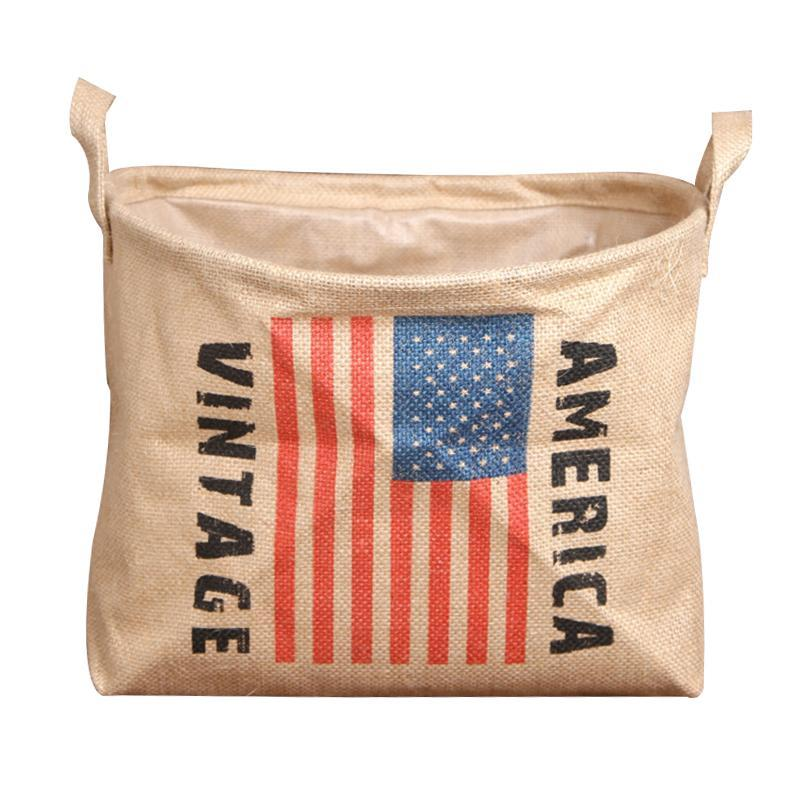 Fresh Deals Home u0026 Living 1 Flag Linen Cylinder Cloth Laundry Basket Storage Bag  sc 1 st  Fresh Deals & Flag Linen Cylinder Cloth Laundry Basket Storage Bag u2013 Fresh Deals