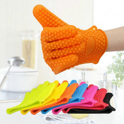Fresh Deals Home & Living Food Grade Heat Slip-Resistant Thick Oven Mitts Gloves