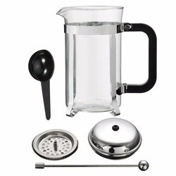 Fresh Deals Home & Living French Frame Heat Resistant Glass  Coffee Tea Maker Pot