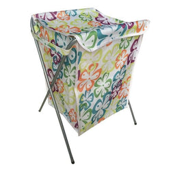 Fresh Deals Home & Living Green flower Dirty Clothing Laundry Bucket Storage Basket