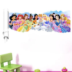 Fresh Deals Home & Living Kids 3D Cartoon Princess Bedroom Wall Stickers