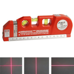 Fresh Deals Home & Living Laser Cross Line with Measurement Hand Tools