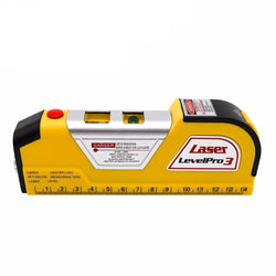 Fresh Deals Home & Living Laser Level Vertical Horizon Tape Measure Tool