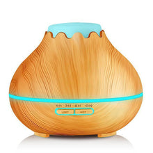 Fresh Deals Home & Living Light wood Air Humidifier Electric Oil Diffuse Aroma Lamp