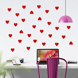 Fresh Deals Home & Living Love Heart Decal Wall Sticker For Kids Living Room