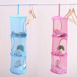 Fresh Deals Home & Living Mesh Hanging Foldable Storage Container Basket