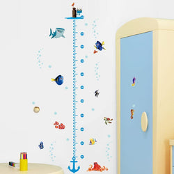 Fresh Deals Home & Living Nemo Fish Height Measure Chart Wall Stickers